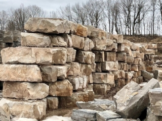 Armour Stone Stacked