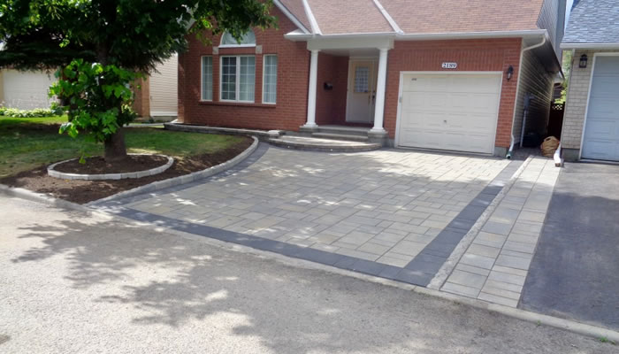Brick and Paver Driveway Construction
