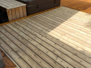 Custom Cedar Deck Builder in Ottawa