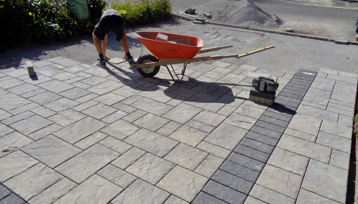Interlocking Brick and Paver Installations