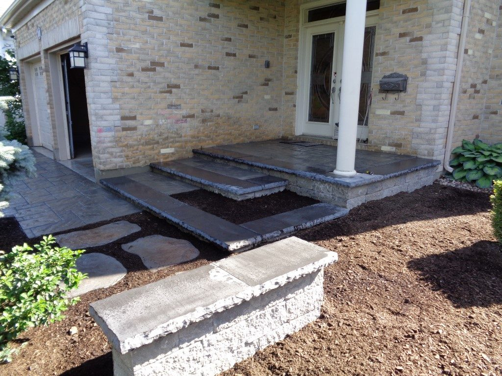 Front Entry and Garden Design By ALHG.